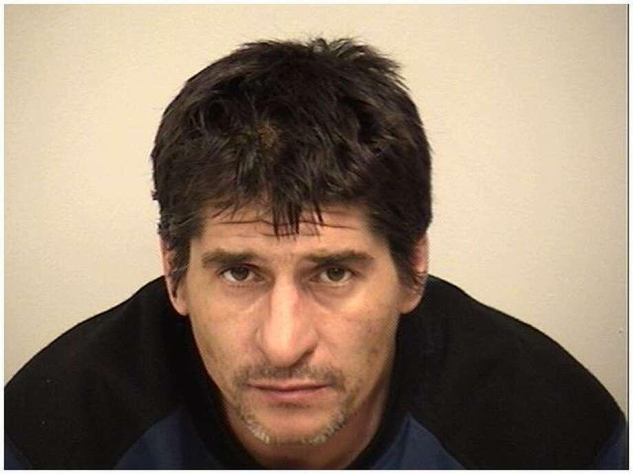 Kristopher Flint, 45, of Stratford, was arrested on Dec. 6, 2016 in Westport, Conn. for allegedly shoplifting in November. Photo: Westport Police / Contributed Photo / Westport News