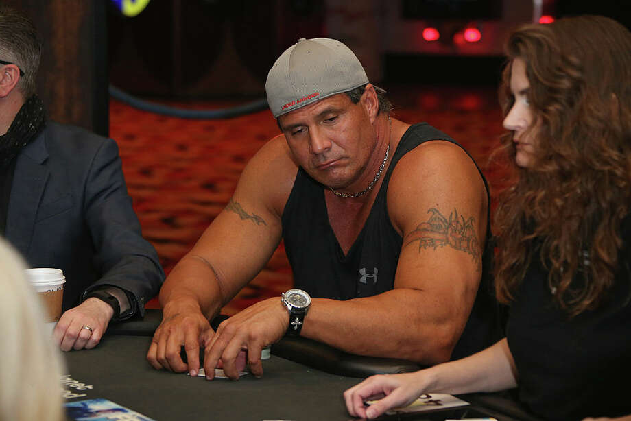 Former Major League Baseball player Jose Canseco participates during the Raising the Stakes Celebrity Charity Poker Tournament benefiting the One Step Closer Foundation at Planet Hollywood Resort & Casino on June 17, 2016 in Las Vegas, Nevada. Photo: Gabe Ginsberg, Getty Images / 2016 Gabe Ginsberg