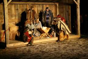 A Live Nativity was an excellent production put on by the Bad Axe Free Methodist Church Saturday evening.