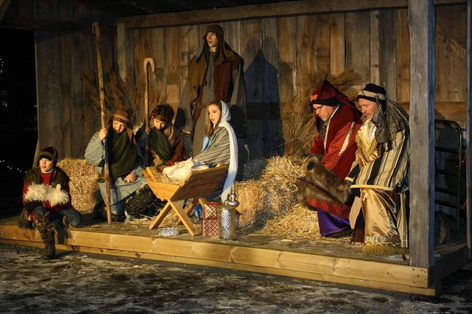 A Live Nativity was an excellent production put on by the Bad Axe Free Methodist Church Saturday evening. Photo: Rich Harp/For The Tribune