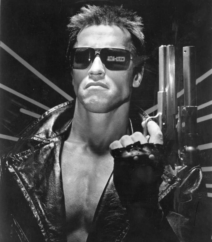 "Arnold Schwarzenegger stars as ""The Terminator"" in the 1984 film by James Cameron. Photo: Orion Pictures"