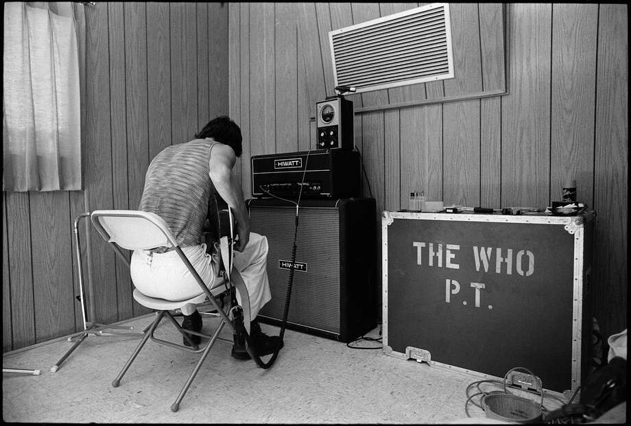 "Pete Townshend of The Who from ""Total Excess: Photographs by Michael Zagaris."" Photo: © Michael Zagaris/ Reel Art Press"