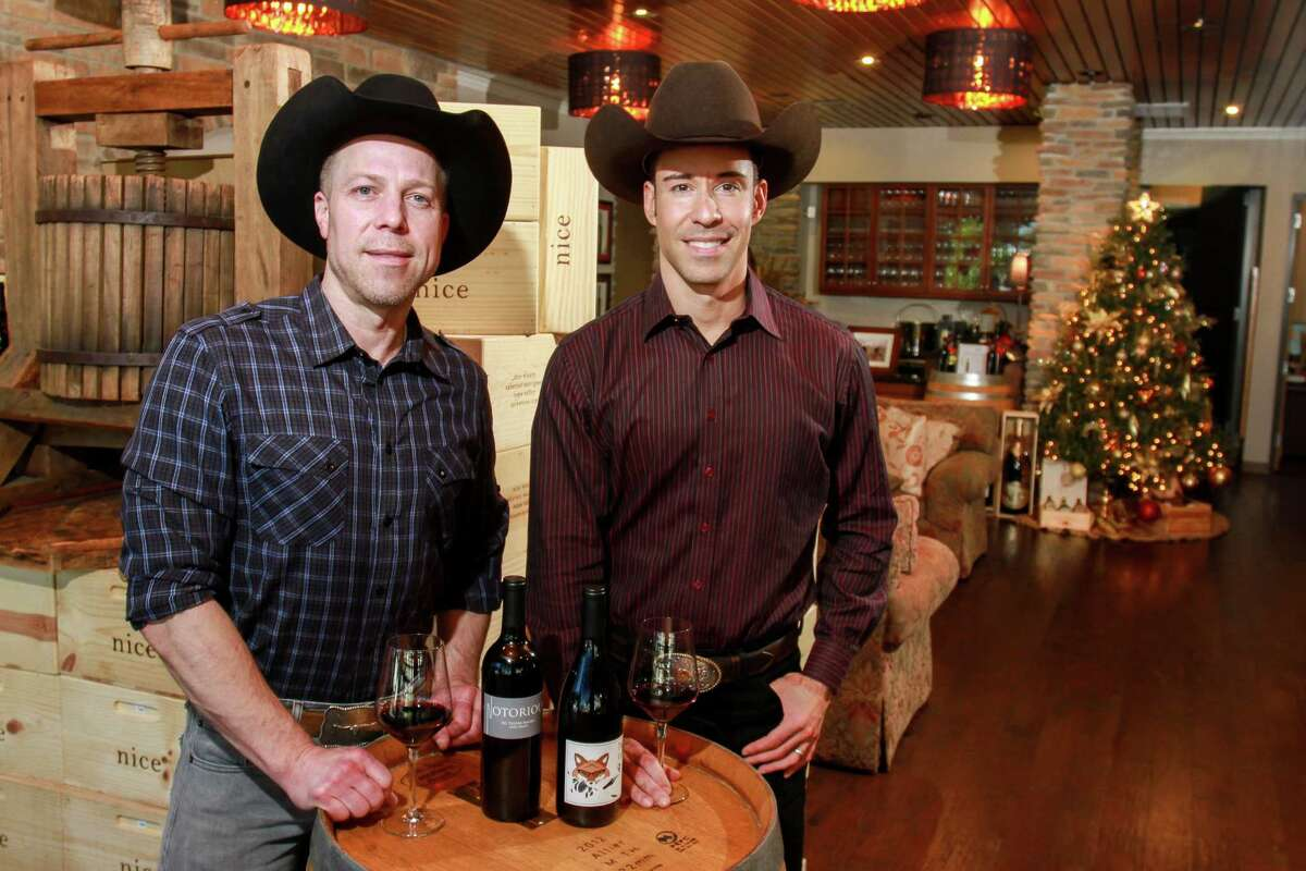 Ian Eastveld, left, and Ryan Levy are owners of Houston-based Nice Wines.