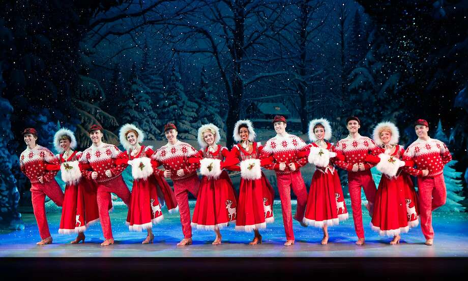 "The visual storytelling is swift and economical in the Broadway touring company production of ""Irving Berlin's White Christmas."" Photo: Jeremy Daniel, SHN"