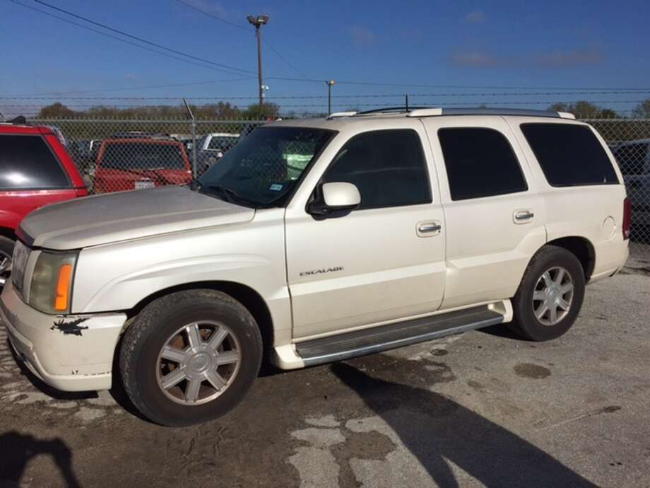 2002 Cadillac EscaladePrivate party value in good condition with standard options: $4,870. Photo: Courtesy City Of San Antonio