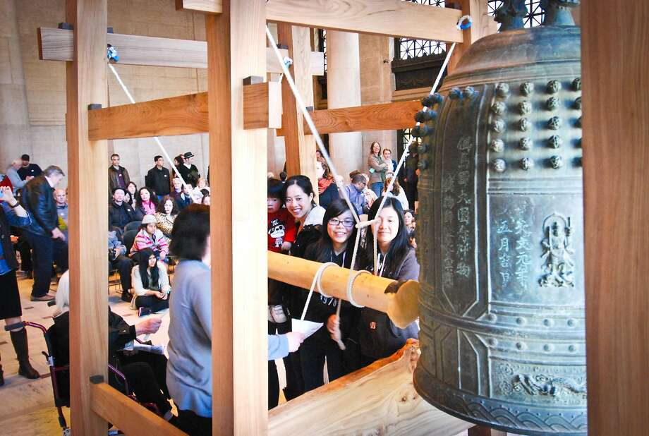 The Asian Art Museum is slated to host its annual Japanese New Year Bell-ringing Ceremony on Thursday, Dec. 31. Photo: The Asian Art Museum