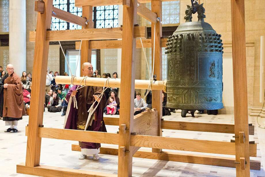 The Japanese New Year Bell-Ringing Ceremony will be Saturday, Dec. 31. Photo: Gaby Esensten, The Asian Art Museum