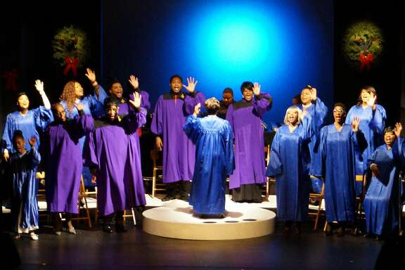 "Yvonne Cobbs directs Lorraine Hansberry Theatre's ""Soulful Christmas: A Gospel Holiday Concert."""
