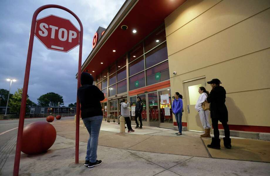 People wait in line outside Target, 8605 Westheimer Rd., for the chance to buy a Hatchimals Sunday, Dec. 11, 2016, in Houston. The first people arrived at 3:30 am. The store opened at 8 am and only had 20 Hatchimals to sell. ( Melissa Phillip / Houston Chronicle ) Photo: Melissa Phillip, Staff / © 2016 Houston Chronicle
