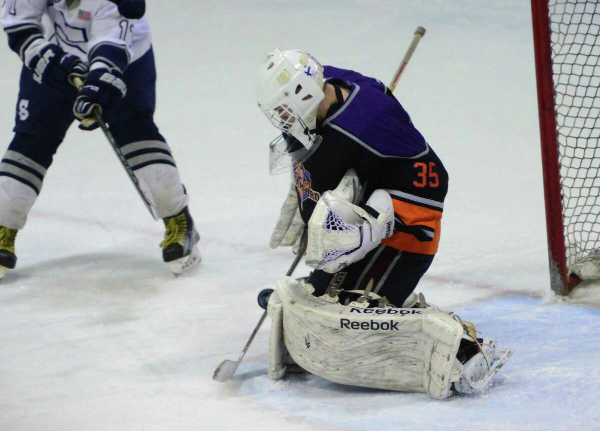 Westhill-Stamford goalie Chris Compolattar is back as the co-op team looks to defend its Division III state championship.