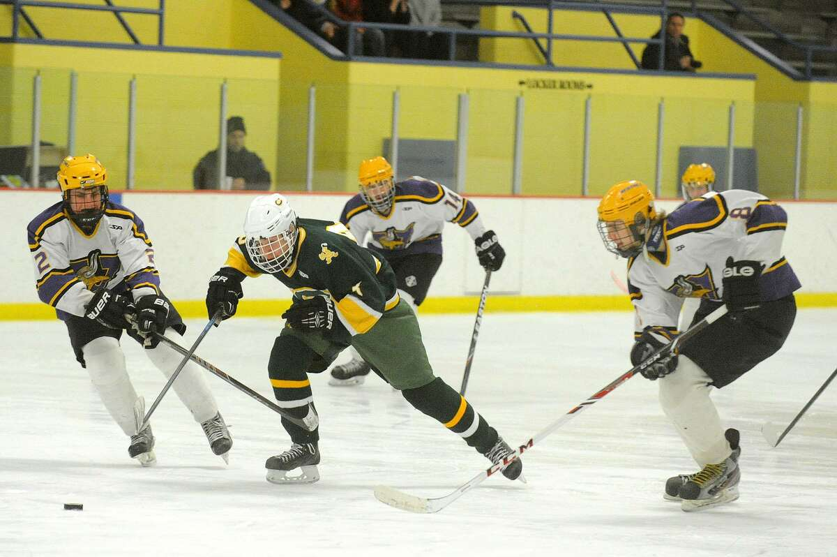Connor Scanlan is being counted on to help lead the resurgence of the Trinity Catholic hockey team.