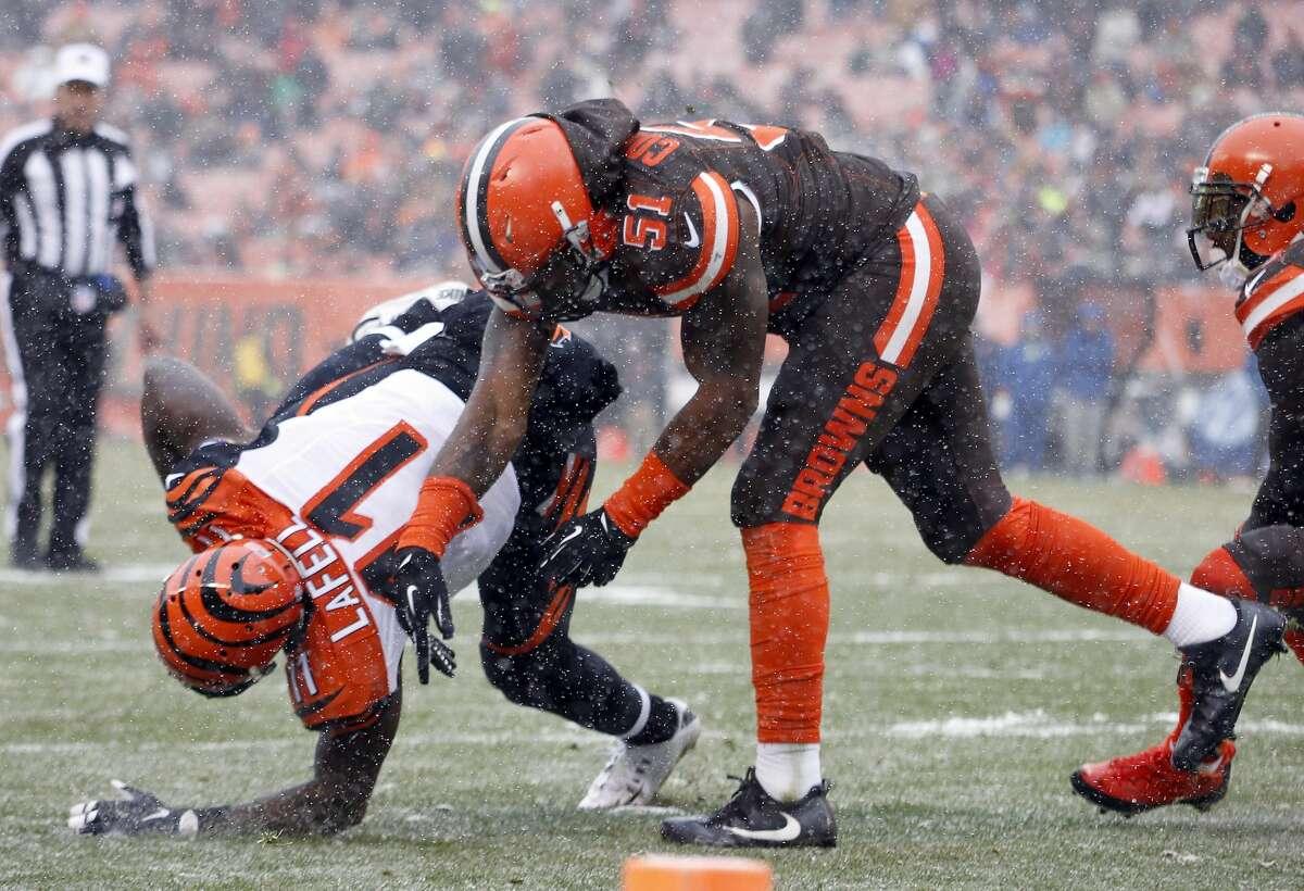 32(Last week: 32): Cleveland Browns (0-13)