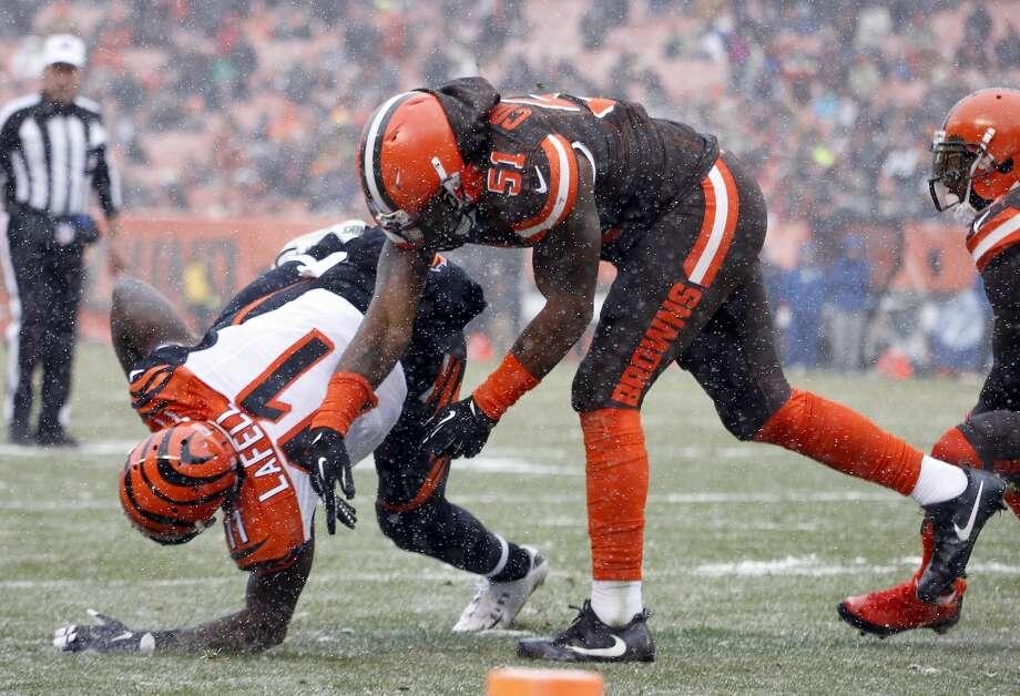 32(Last week: 32): Cleveland Browns (0-13) Photo: Justin K. Aller/Getty Images