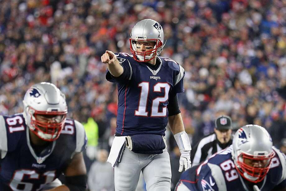 Patriots quarterback Tom Brady #12 of the New England Patriots gestures during the first half against the Baltimore Ravens at Gillette Stadium on December 12, 2016 in Foxboro, Massachusetts. (Photo by Maddie Meyer/Getty Images) Photo: Maddie Meyer, Getty Images