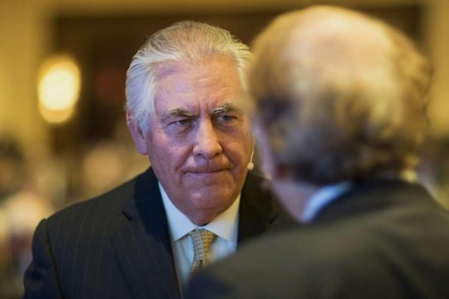 Exxon Mobil CEO Rex Tillerson
