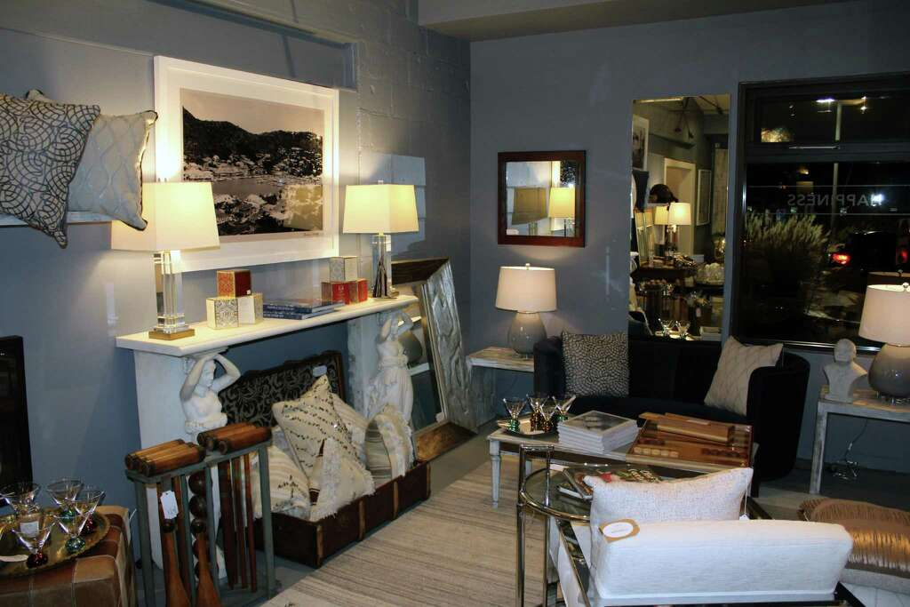 the launch party of home furnishing store caravan on burtis avenue new canaan
