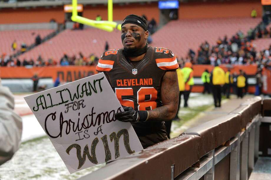 32. Cleveland (0-13) | Last week: 32With games at Buffalo and Pittsburgh and home against San Diego, there's a good chance the Browns will become the NFL's second 0-16 team. Photo: David Richard, Associated Press / FR25496 AP