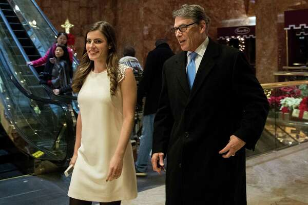 Former Texas Gov. Rick Perry is reportedly President-elect Donald Trump's pick to be Energy Secretary. There is reason to be wary of the choice. He arrives at Trump Tower on Dec. 12 to meet with Trump and his transition team.
