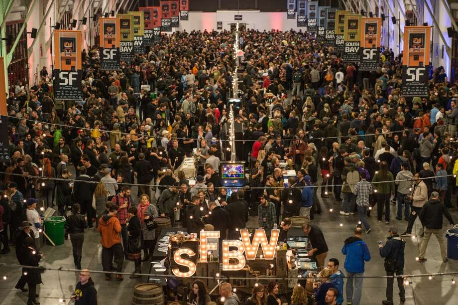 Highlights of SF Beer Week 2017Friday, February 10: The San Francisco Beer Week Opening Gala at Pier 48 in San FranciscoThe biggest San Francisco Beer Week event is also the most beloved. Dozens and dozens of local brewers from Sacramento to San Jose will be in attendance, pouring select offerings from their menus. The Gala will also serve as the first occasion for the public to try the Brewers' Guild's new collaboration beer, New Frontier. This canned kolsch-style ale, brewed at Fort Point with input from many of the breweries in the Guild, utilizes satsuma fruit and Douglas fir tips. A word of advice: if you're big on beer, spring for the VIP tickets — the best beers run dry early. (Price TBD.)Pictured: the 2015 SF Beer Week opening gala.  Photo: Photo: Gamma Nine Photography
