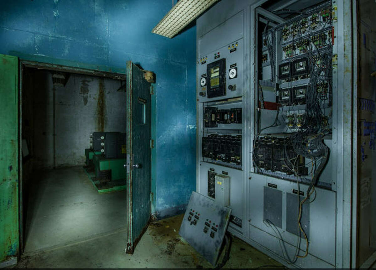 Remnants Old equipment, now out of use, in a one-time AT&T switching station that also served as a bomb shelter in case of a nuclear war in Florida.