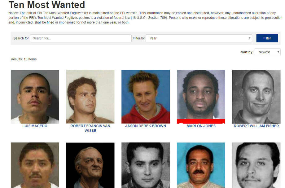 A Texas man is now among the country's most wanted.The FBI added a former University of Texas student to the 10 Most Wanted fugitives list. Robert Francis Van Wisse is being sought for the 1983 slaying of Laurie Stout in Austin. Photo: FBI