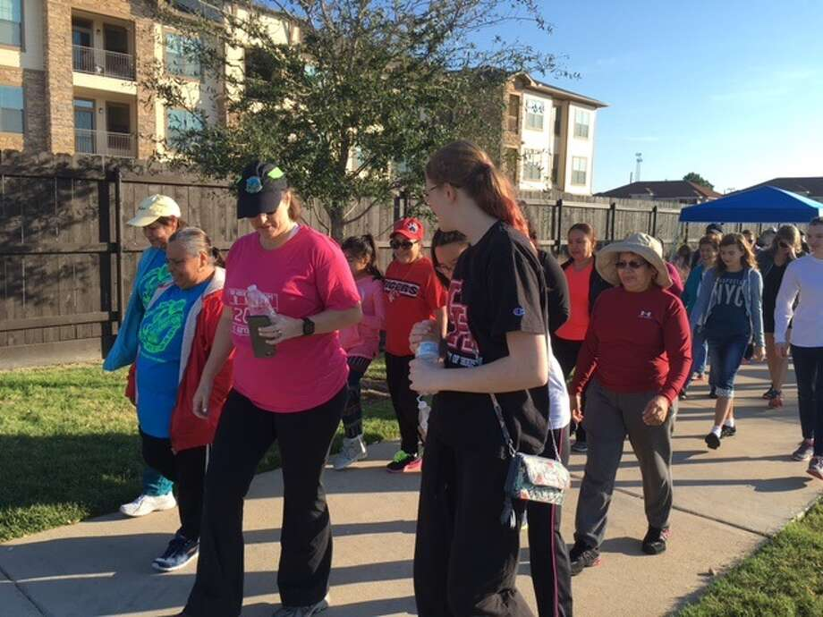 """Walk with a Doc"" is a global program where doctors walk with their        patients in order to promote healthy living styles. Photo: Submitted Photo"