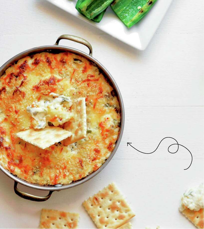 "Jalapeno popper dip from ""Upscale Downhome: Family Recipes, All Gussied Up"" by Rachel Hollis. Photo: Thomas Dunne Books."