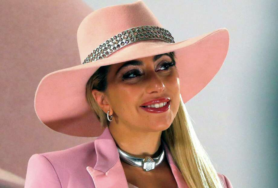 Entertainer Lady Gaga poses for photographers during an event to promote her new album 'Joanne' in Tokyo, Wednesday, Nov. 2, 2016. (AP Photo/Shuji Kajiyama) Photo: Shuji Kajiyama, STF / Copyright 2016 The Associated Press. All rights reserved.