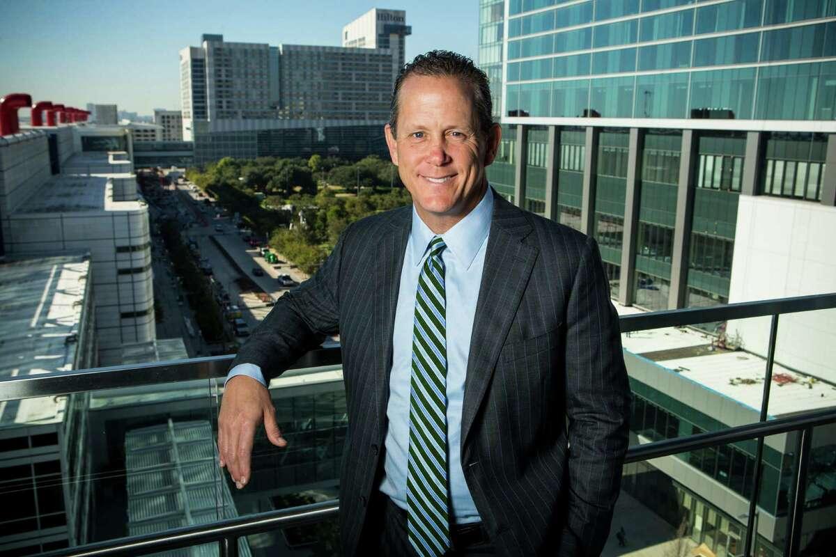 Jamey Rootes, president of the Houston Texans, poses for a portrait at the Greater Houston Partnership on Wednesday, Nov. 16, 2016, in Houston. ( Brett Coomer / Houston Chronicle )