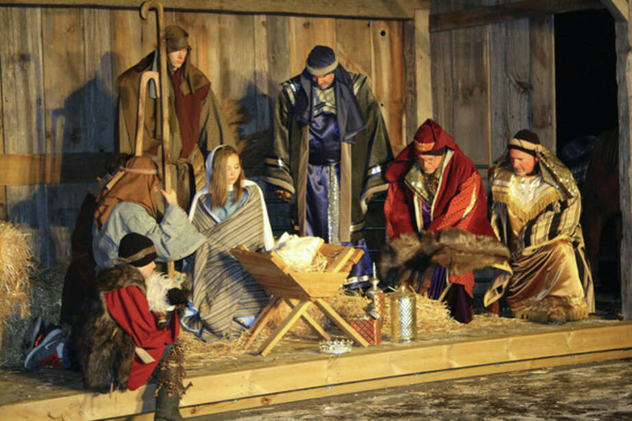 A Live Nativity was hosted by the Bad Axe Free Methodist Church on Saturday night. Everything from merchants, Roman soldiers and the Baby Jesus were portrayed during the event. Performances lasted for 15 minutes are were repeated from 6 to 8:30 p.m.