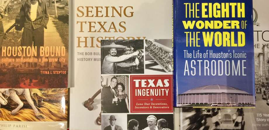 A sampling of books on Texas and Houston.