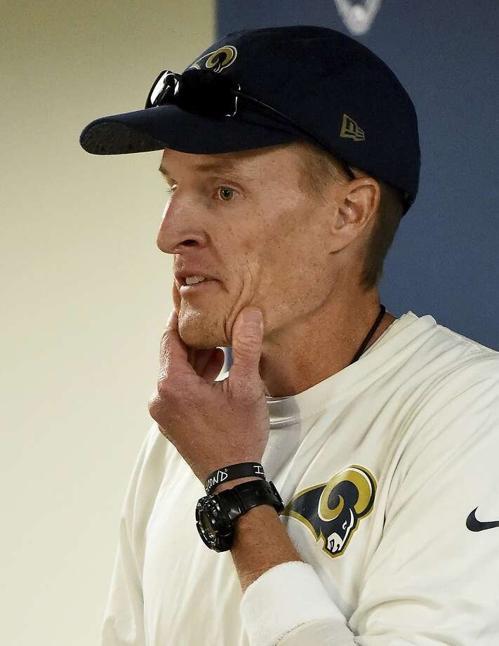 John Fassel didn't even time to call his family on Monday. Photo: Jayne Kamin-Oncea, Associated Press
