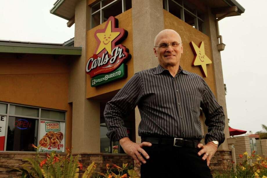Andrew Puzder, chief executive of CKE Restaurants, in a June 2011 file image. (Al Seib/Los Angeles Times/TNS) Photo: Al Seib, FILE / Los Angeles Times