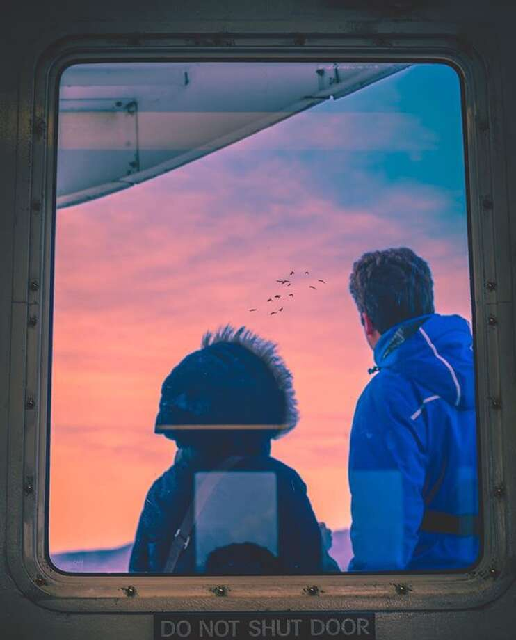 @kanecandrade captured this beautiful moment on a ferry in San Francisco. Photo: Instagram / @kanecandrade