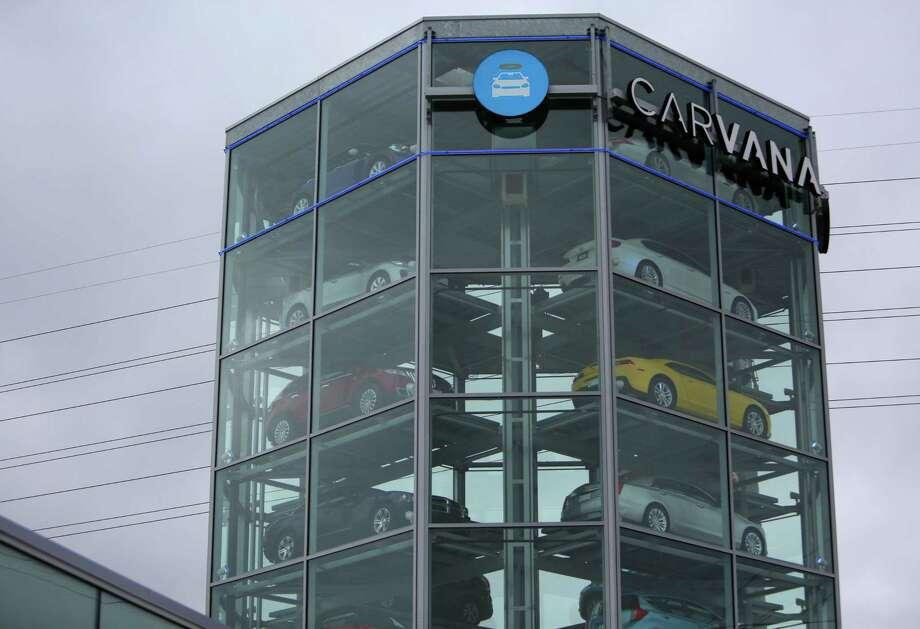 Chevy Dealership San Antonio >> New Carvana tower aims to make car buying 'fun' - Houston Chronicle
