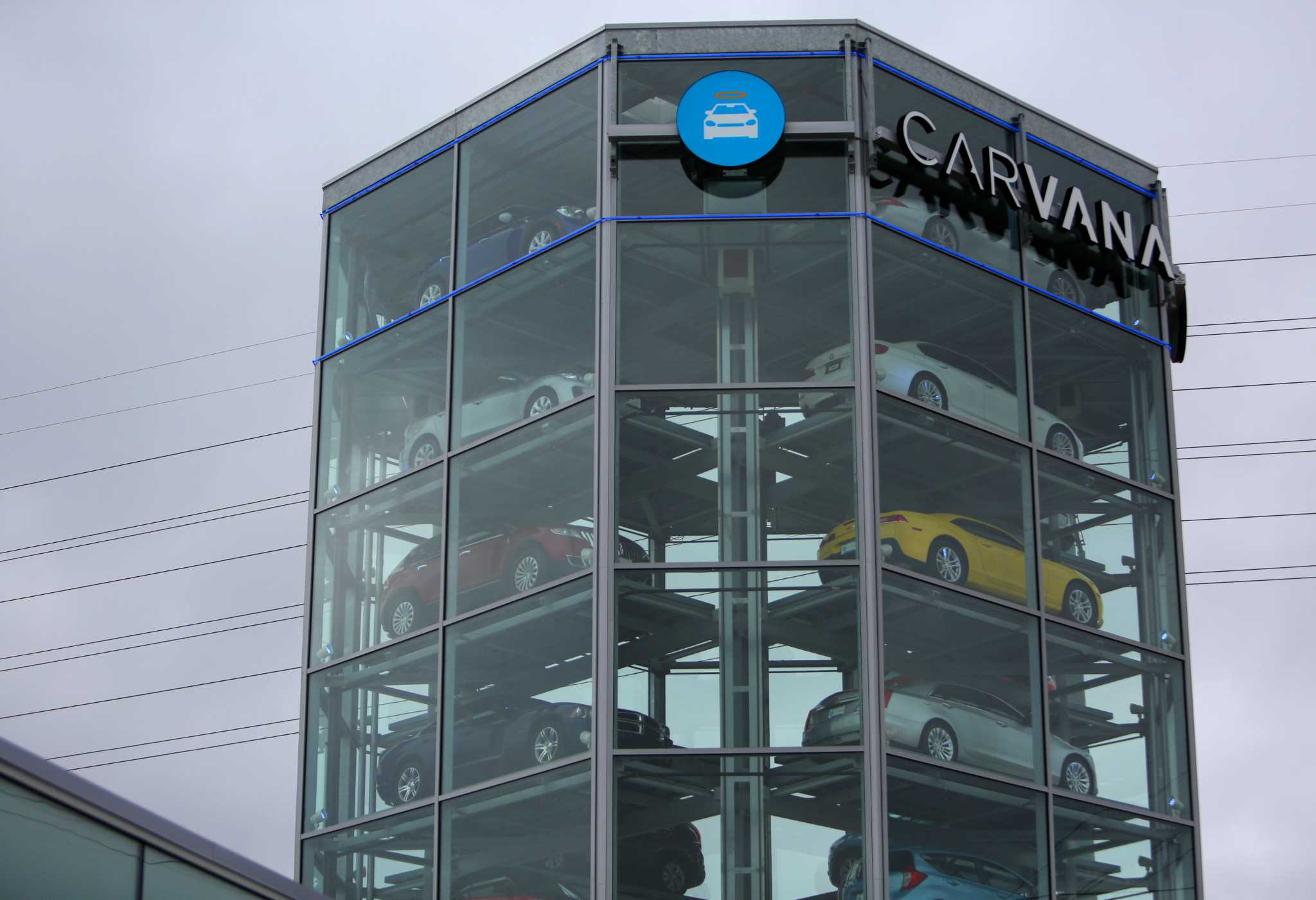 New Carvana Tower Aims To Make Car Buying Fun San