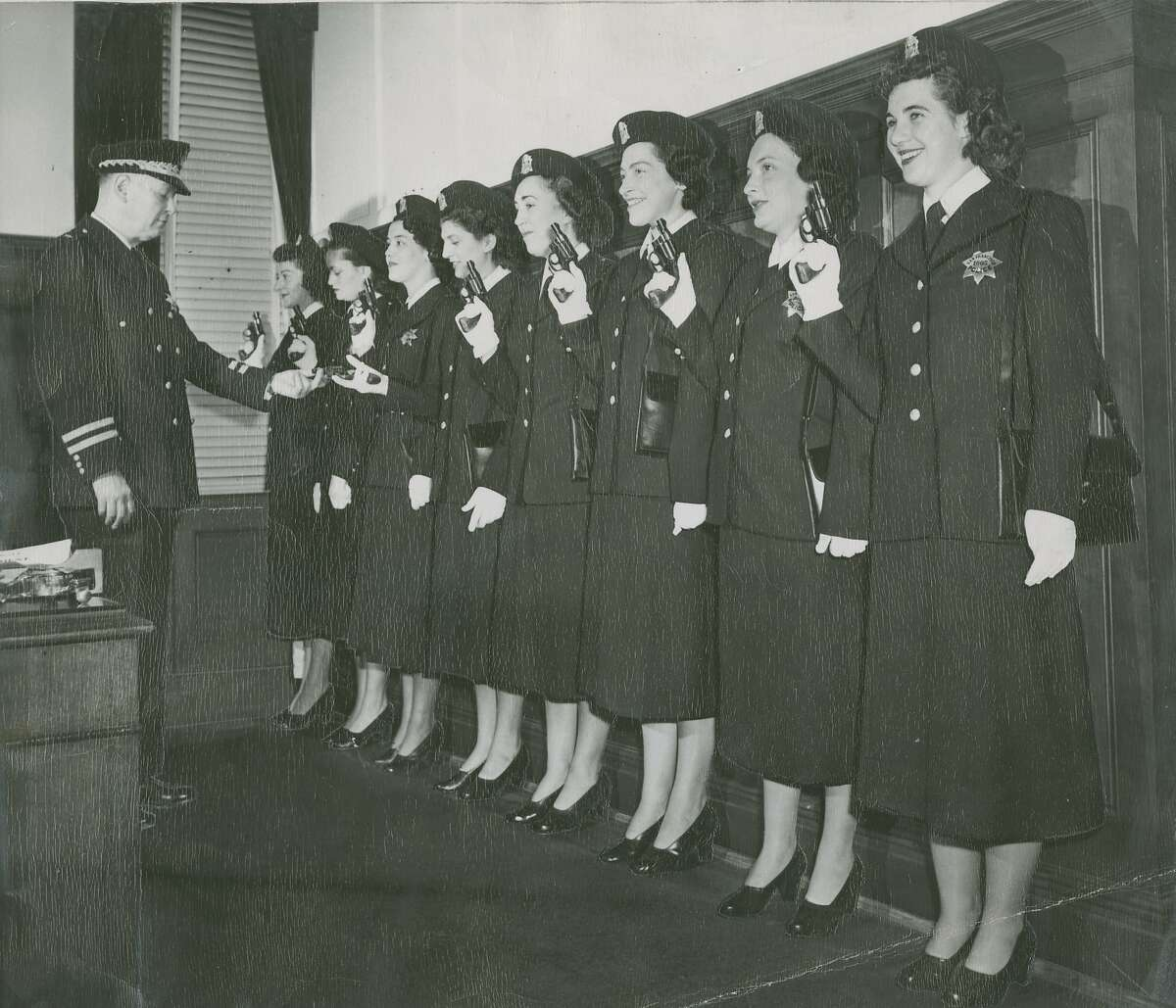 Click ahead to see more historic photos of SFPD officers.