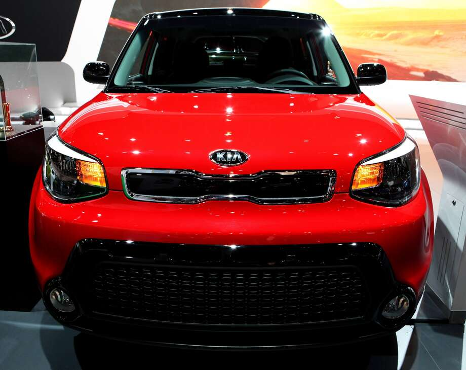 "Car and Driver magazine names 2017's best trucks, SUVsSubcompact SUV: Kia SoulBase price: $16,840 - $23,500What Car and Driver said: ""The current Soul has maintained the funky charm of the first-generation model with design—inside and out—that manages to be both fresh and genuinely attractive, attributes that are often at odds.""Source: Car and Driver Photo: Raymond Boyd, Getty Images"