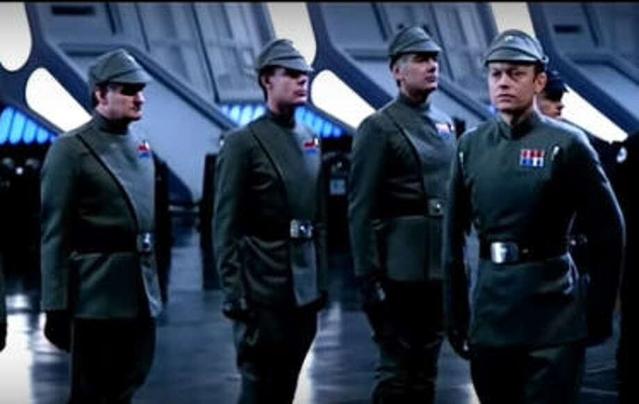 """Did Ted Cruz have a movie career before politics?The U.S. Senator from Texas did a lot of things before first being elected, but appearing in 1983's """"Return of the Jedi"""" wasn't one of them. The Imperial officer on the far left bears a striking resemblance to Cruz, but the Texas Republican would have been 12 when the movie was released. Photo: YouTube/Screenshot"""