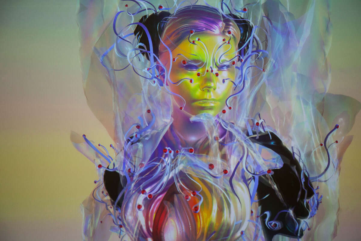 """""""Bjork Digital,"""" a five-room installation of digital and video works by the Icelandic artist Bjork, is among the highlights of the 2016 Day for Night Festival."""
