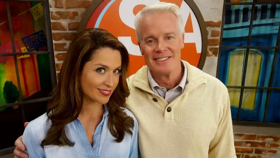 Mike Osterhage, seen here with his 'SA Live' co-host Fiona Gorostiza, will continue as KSAT's morning weathercaster, but will drop his noon duties in favor of the 1 p.m. lifestyle job. Photo: KSAT
