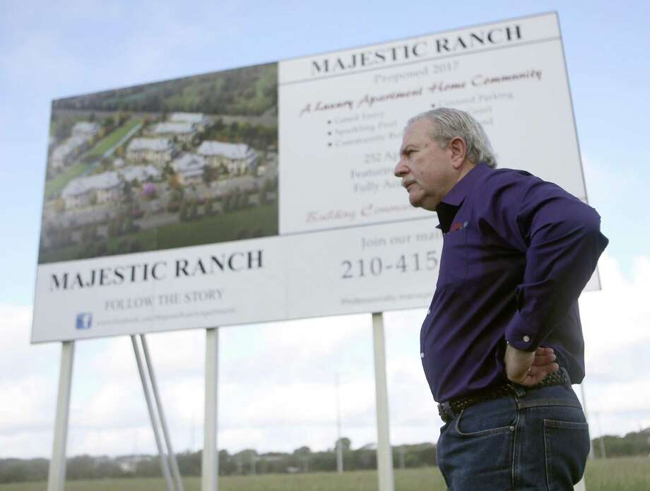 Local developer Mike Hogan reached a compromise with Ingram Hills residents over a low-income apartment complex planned on Callaghan Road. Photo: William Luther /San Antonio Express-News / © 2016 San Antonio Express-News