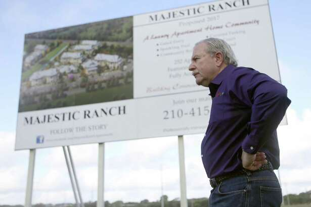 Local developer Mike Hogan reached a compromise with Ingram Hills residents over a low-income apartment complex planned on Callaghan Road.
