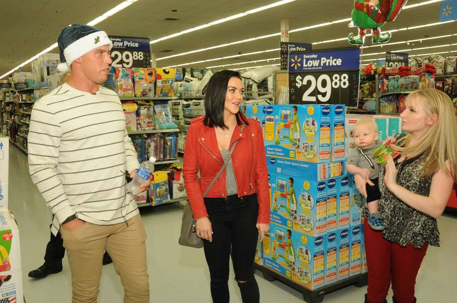 The Houston Texans' Brian Cushing hosted his Operation Holiday Hope on Tuesday night. Photo: Courtesy Photo