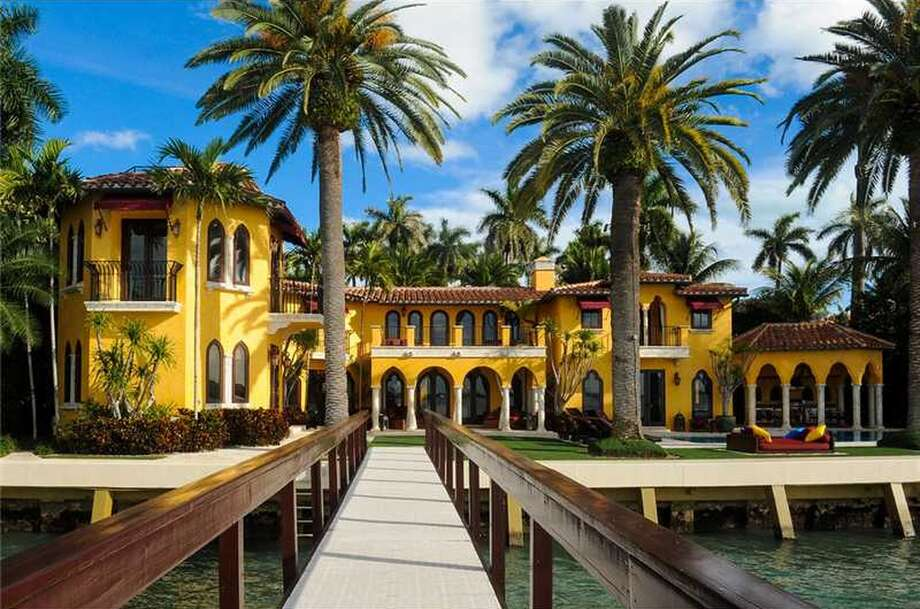 1771 N View Dr., Miami, FL  Owned by Enrique Iglesias  Asking price: $21,500,000 toptenrealestatedeals.com Photo: One Sotheby's