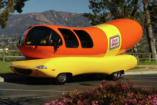 The world famous Oscar Meyer Wienermobile will be in Edwardsville at Dierbergs from 2:30 p.m. until  5 p.m. Friday.  Visitors are can take inside tours of the vehicle, have photos taken with bacon and hotdog cutouts and receive famous Oscar Mayer whistles. The  event is free and family friendly.
