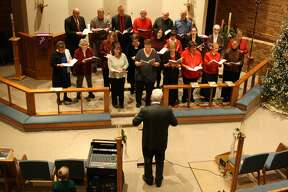 Zion Lutheran Church of Harbor Beach was packed with parishioners and visitors for the town's annual Christmas Sing.