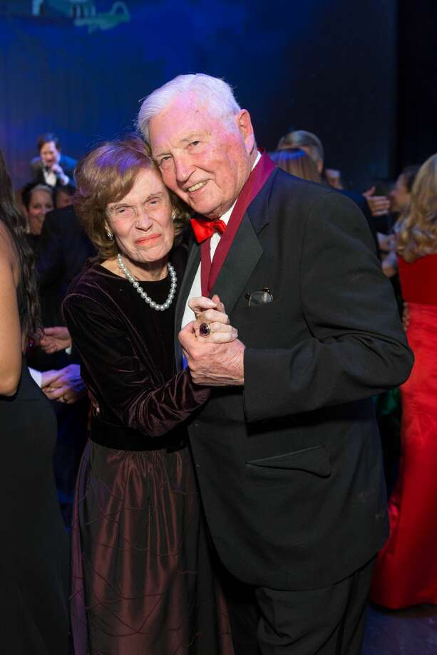 "Cathie Johnson and Pitch Johnson attend SF Opera's An Evening on the Stage honoring Franklin P. (""Pitch"") Johnson, Jr. December 5th 2016 at War Memorial Opera House in San Francisco, CA (Photo - Ando Caulfield for Drew Altizer Photography) Photo: Drew Altizer Photography/Photo - Ando Caulfield For Drew"