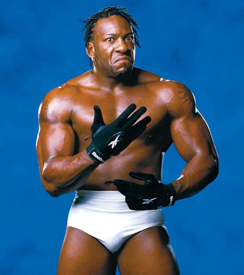 Wrestler Booker T. Huffman went to Yates High School.  Photo: WWE