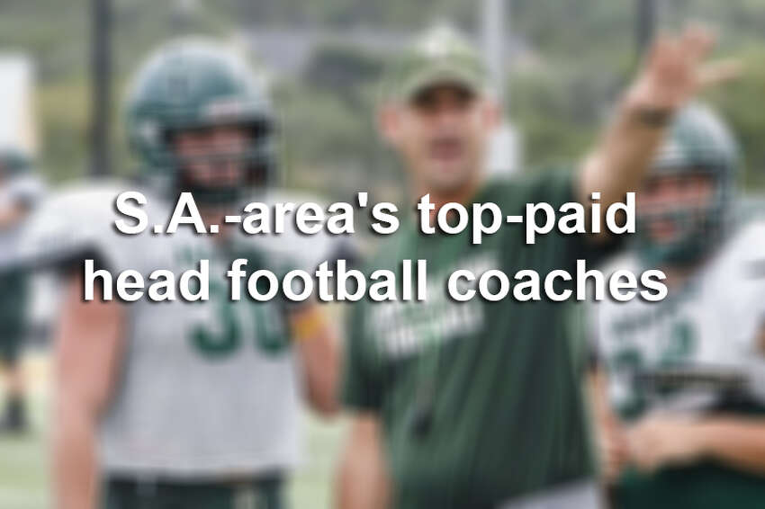 In a city where the gridiron reigns, the majority of head football coaches at San Antonio-area high schools will earn a salary of at least $90,000 in the 2016-2017 school year, according to records obtained by mySA.com. Click through the slideshow to see the 30 highest-paid head football coaches at San Antonio-area high schools.